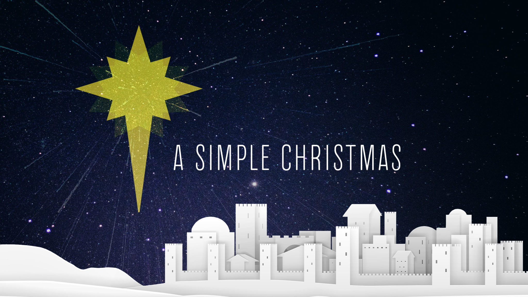 The Simplicity of Christmas
