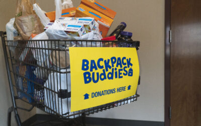 Fill the Backpack Buddies Cart