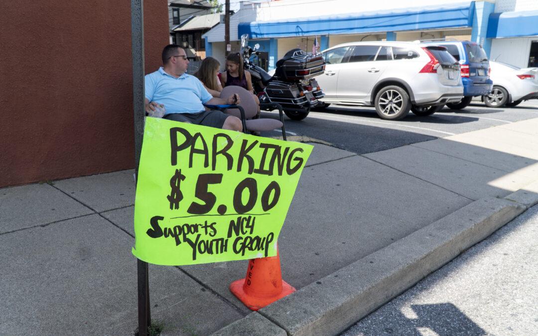 Musikfest Parking Fundraiser